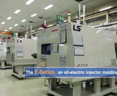 LS Mtron Injection Molding Machine