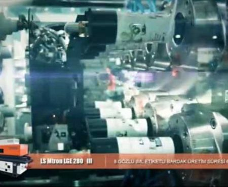 Kap Üretimi 8 Göz IML Baskılı Elektrikli Enjeksiyon