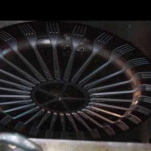 Plastik Çatal Üretimi Hidrolik Makina