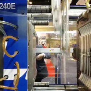 Plastik Çatal Üretimi Elektrikli Enjeksiyon
