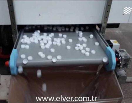 Plastik Kapak Üretimi Elektrikli Enjeksiyon