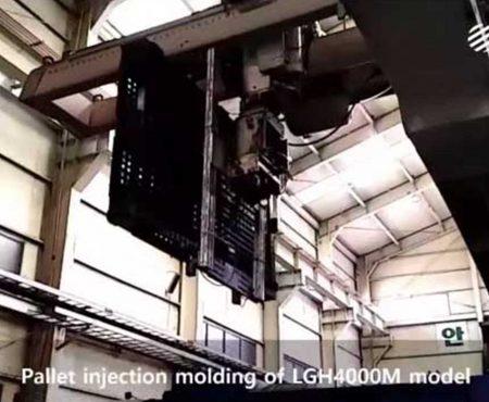 Pallet Üretimi Hidrolik Servo Enjeksiyon
